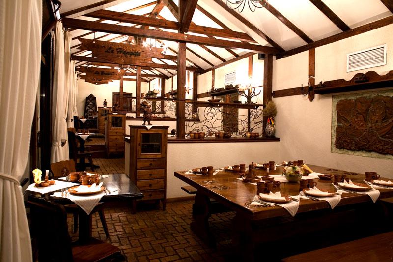 Restaurant rustic complex bellaria