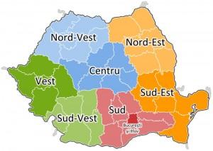 Regionalizare în pas de defilare