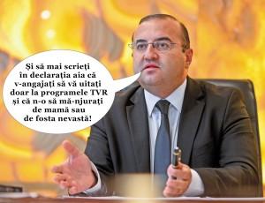 Şantaje, şantaje! cu Săftoiu de la TVR...