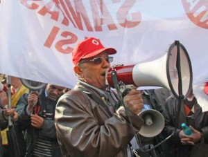 Cui îi predă goarna de sindicalist Vermorel Năstase?