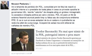 Cronica unui divorț anunțat: Nicușor și-a tras amantă populară și pleacă din casa PDL!