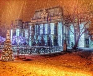 ninsoare - decembrie