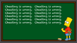cheating-is-wrong
