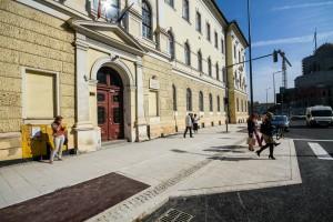 Reabilitarea străzilor din centrul Clujului, un proiect aflat încă în derulare